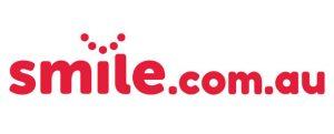 smile dot com dot A U logo