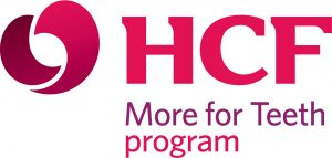 H C F More for Teeth program logo